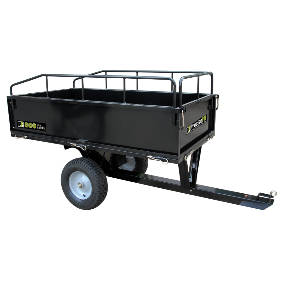 PreciseFit 17-cu ft Steel Dump Cart