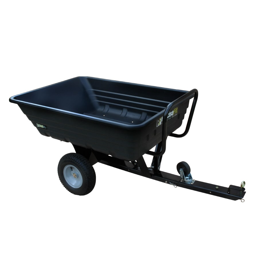 PreciseFit 8-cu ft Plastic Dump Cart