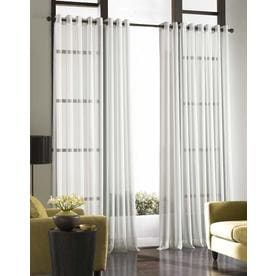 Curtainworks Soho Curtain Panel - Winter White (132u0022)