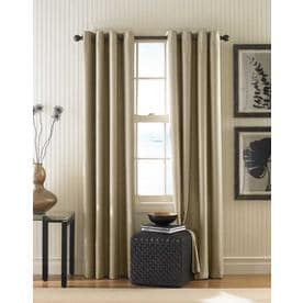 Curtainworks Monterey Lined Curtain Panel - Linen (132u0022)