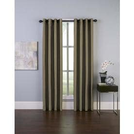Curtainworks Malta Room Darkening Curtain Panel - Bronze (84u0022)