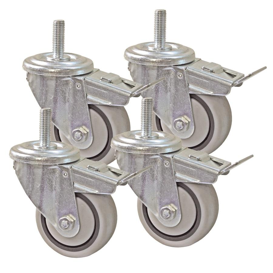 Kreg 3-in Dual Locking Caster Set (Set of 4)