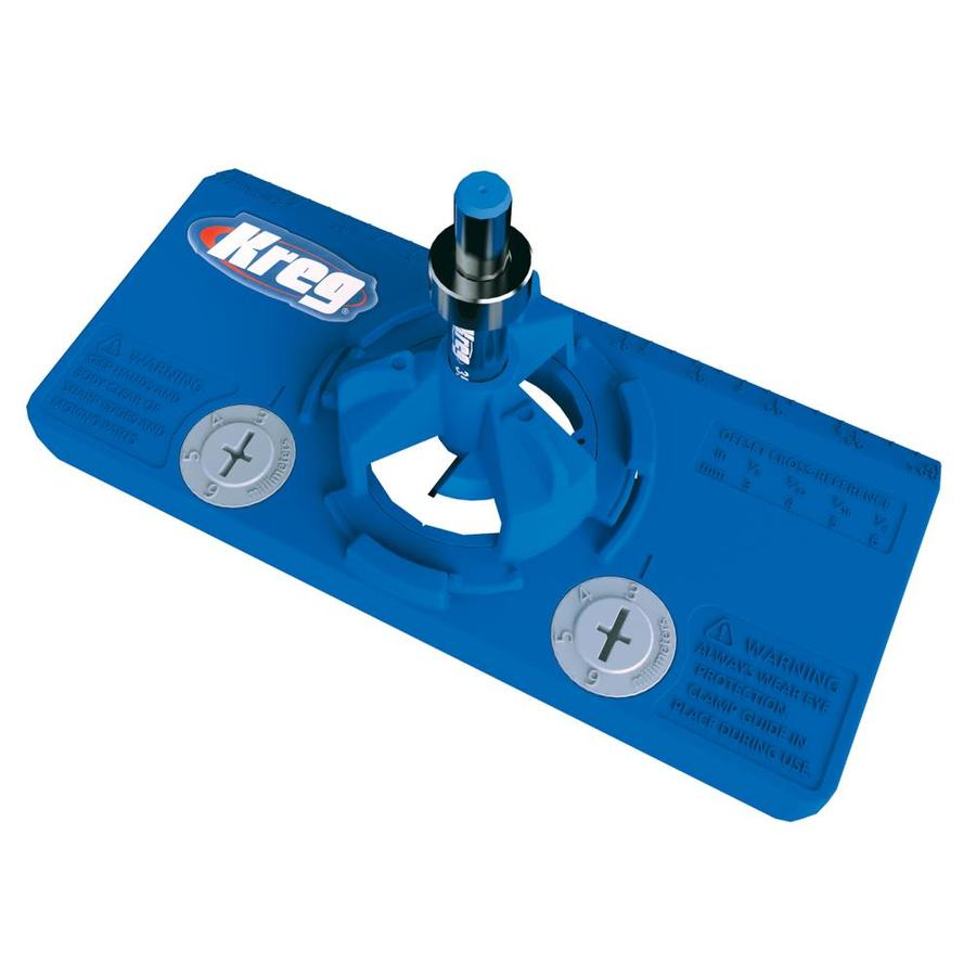 Kreg Concealed Hinge Jig At Lowes Com