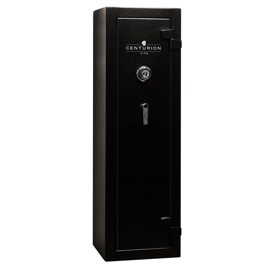 Liberty Centurion 12-Gun Black Gun Safe