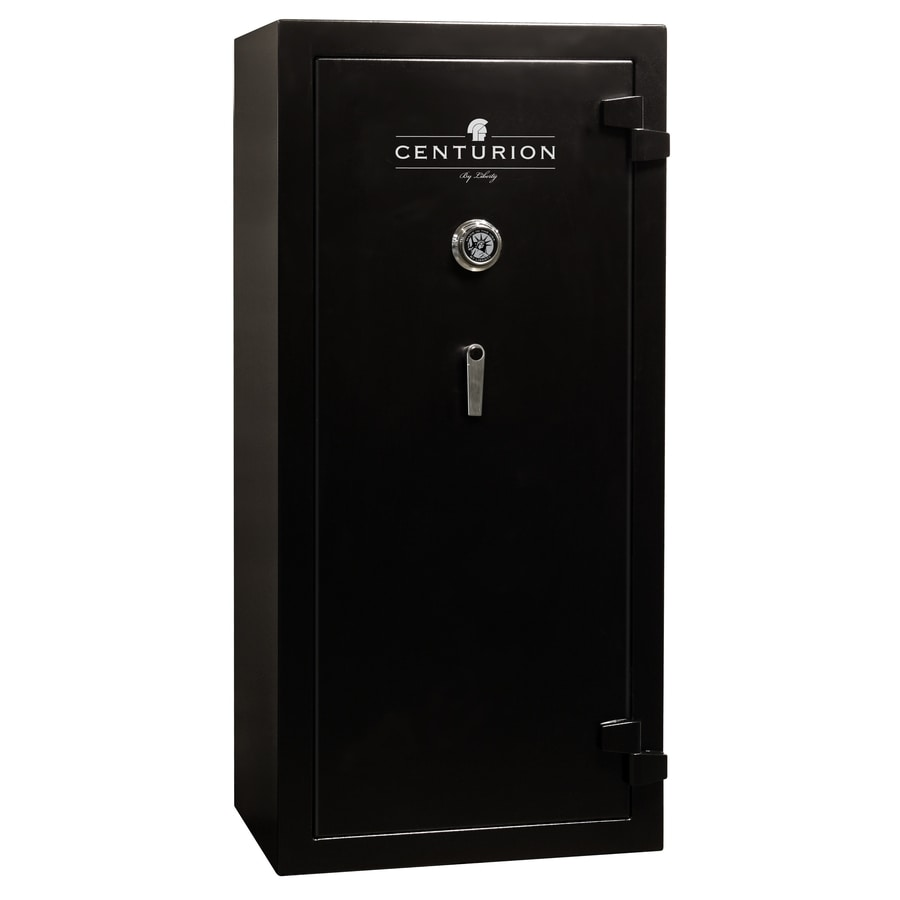 Liberty Centurion 24-Gun Black Gun Safe