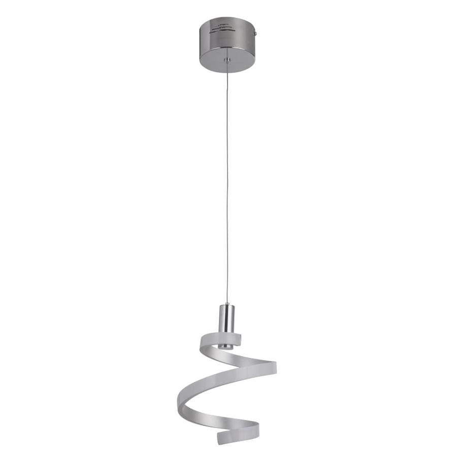 Craftmade Signature Matte Silver Chrome Modern Contemporary Led Pendant Light In The Pendant Lighting Department At Lowes Com