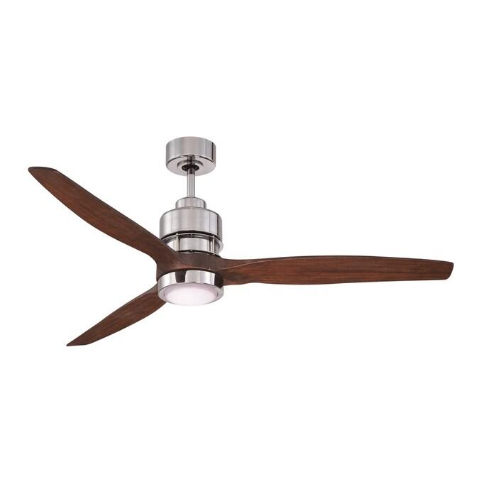 Chrome Led Indoor Ceiling Fan