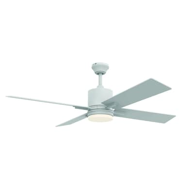 Craftmade 52-in Teana Ceiling Fan in White at Lowes com