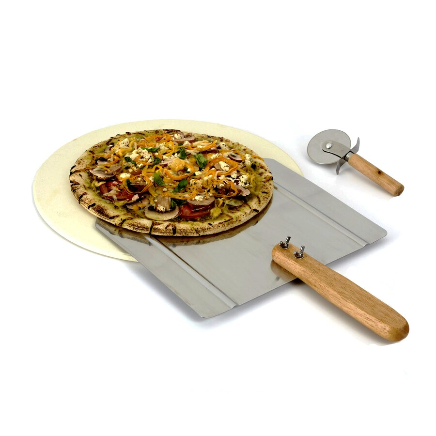 Ceramic Pizza Stone : Shop master forge piece ceramic pizza stone at lowes
