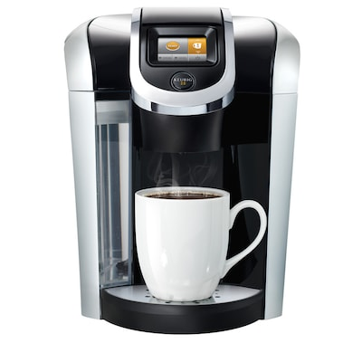 2 K400 Black Programmable Single Serve Coffee Maker