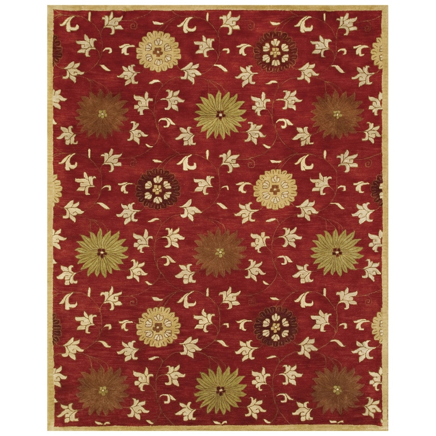 Bashian Ipswich Rectangular Indoor Tufted Area Rug (Common: 6 x 9; Actual: 66-in W x 102-in L)