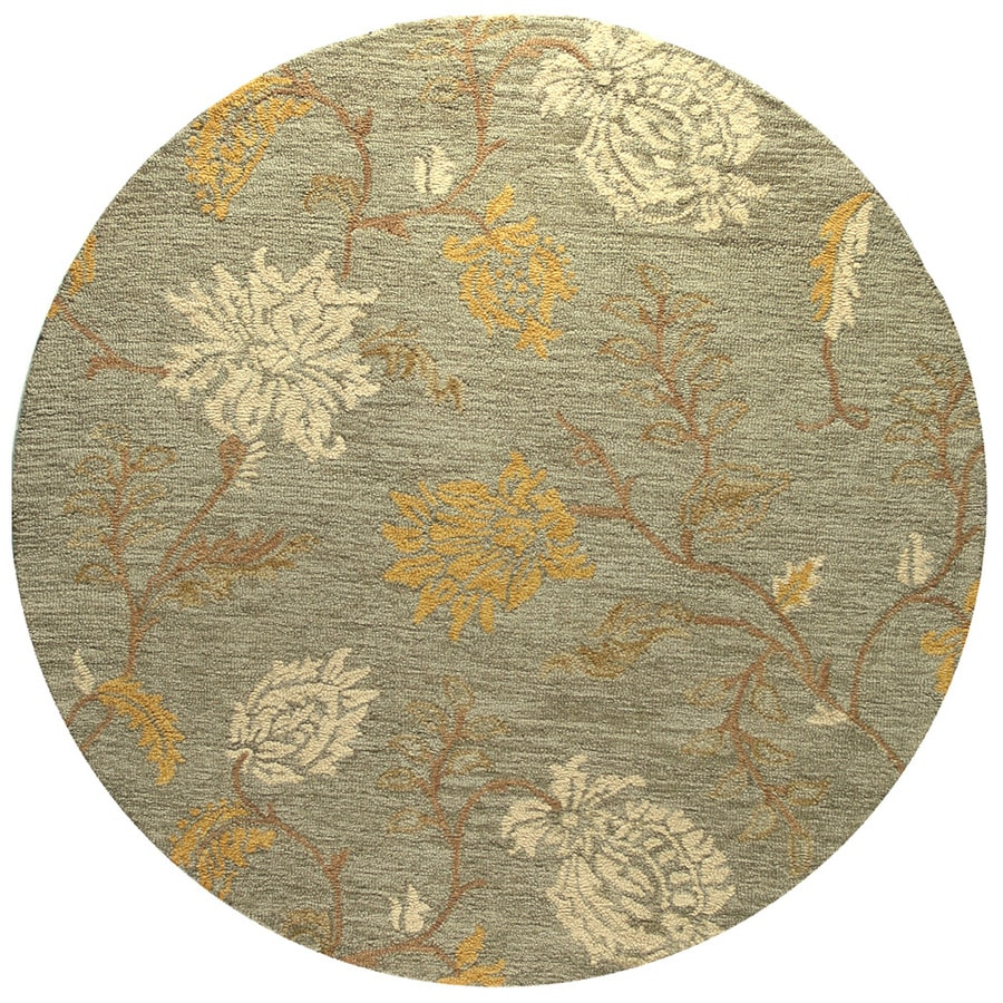 Bashian Stockport Round Indoor Tufted Area Rug