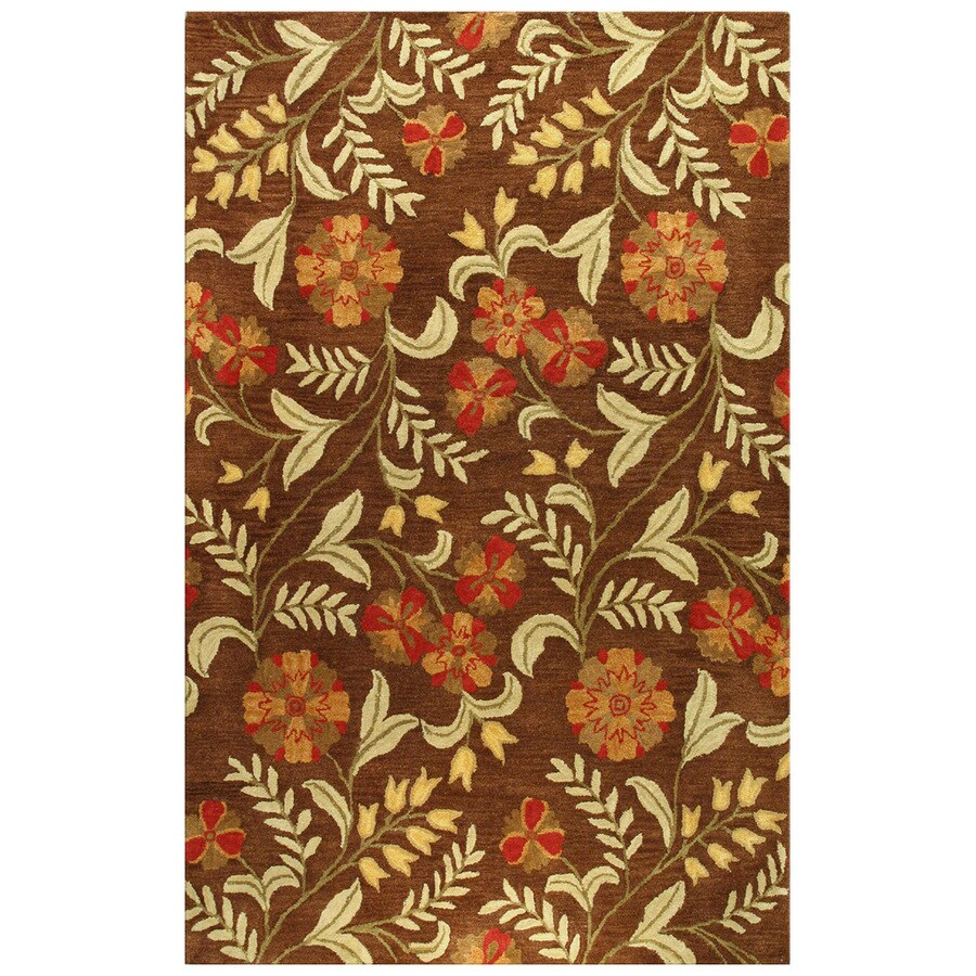Bashian Ashland Rectangular Indoor Tufted Area Rug (Common: 4 x 6; Actual: 42-in W x 66-in L)