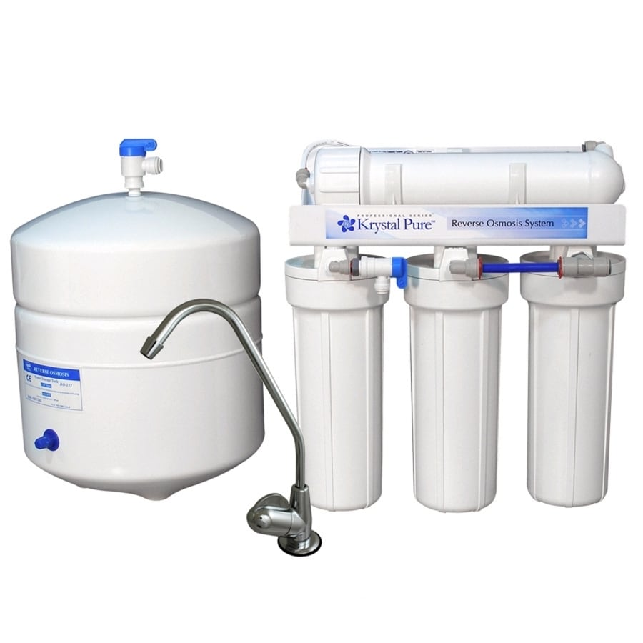 Krystal Pure Under Sink Complete Filtration System with Reverse Osmosis Filtration