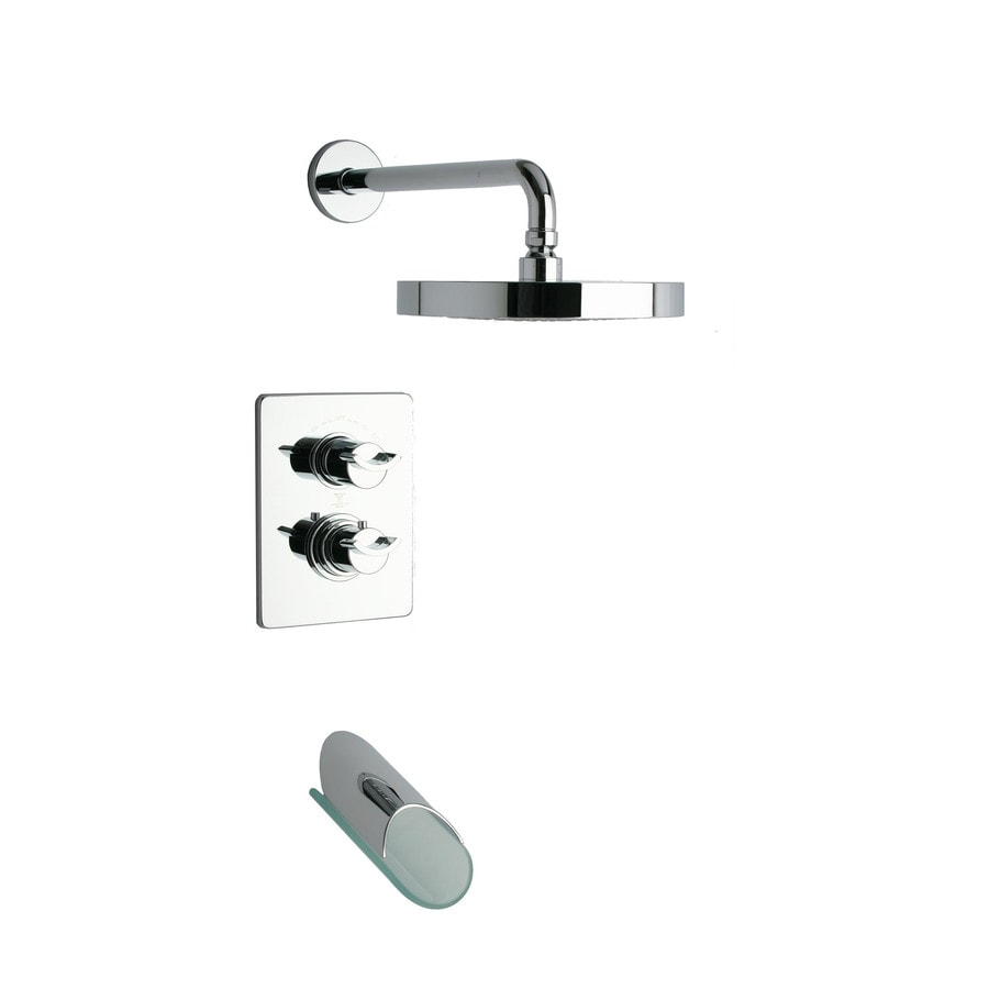LaToscana Morgana Chrome 2-handle Commercial Shower Faucet with Valve
