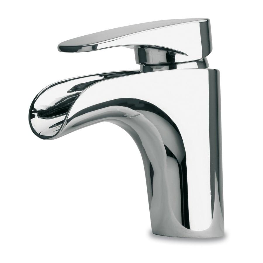 LaToscana Novello Chrome 1-handle Single Hole Commercial Bathroom Faucet