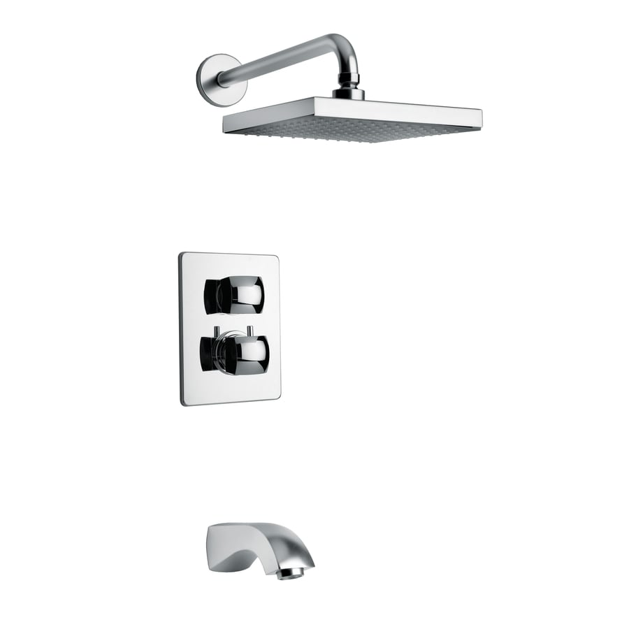 LaToscana Lady Chrome 2-handle Commercial Shower Faucet with Valve