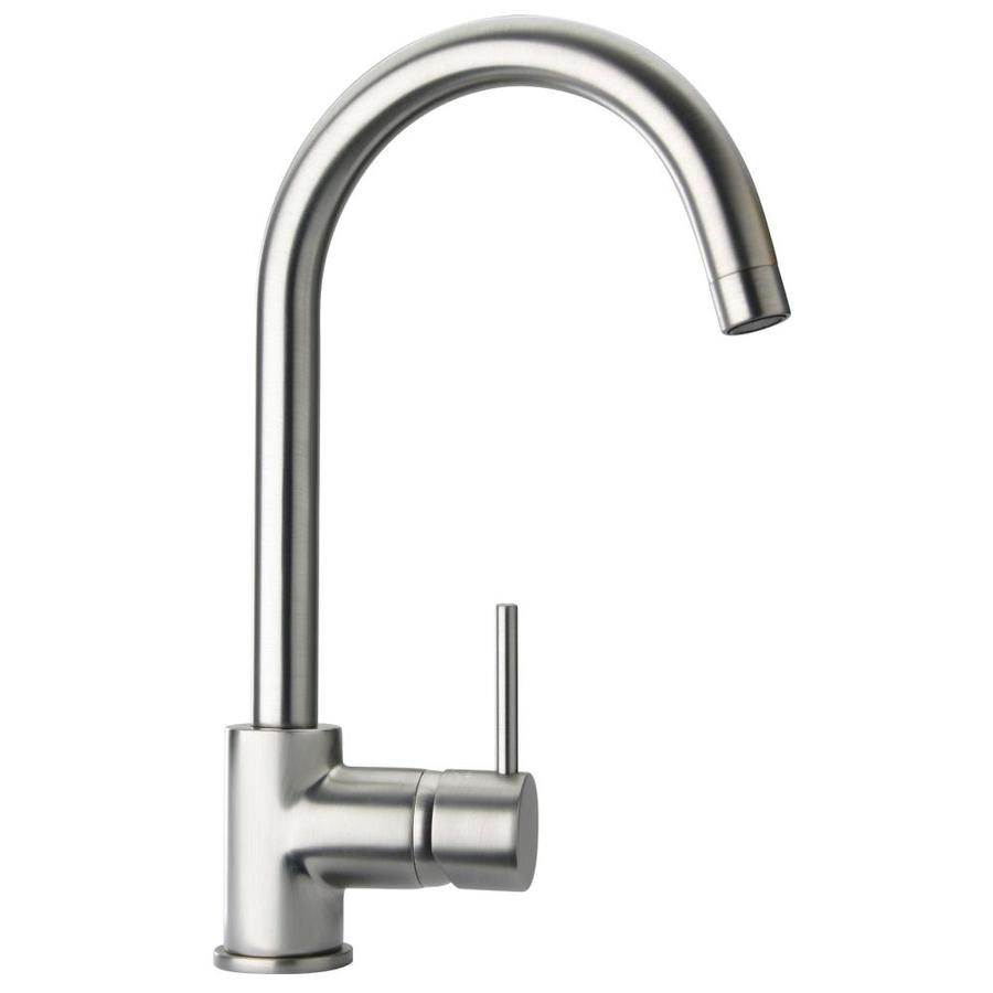 Commercial Type Kitchen Faucets Brushed Nickel
