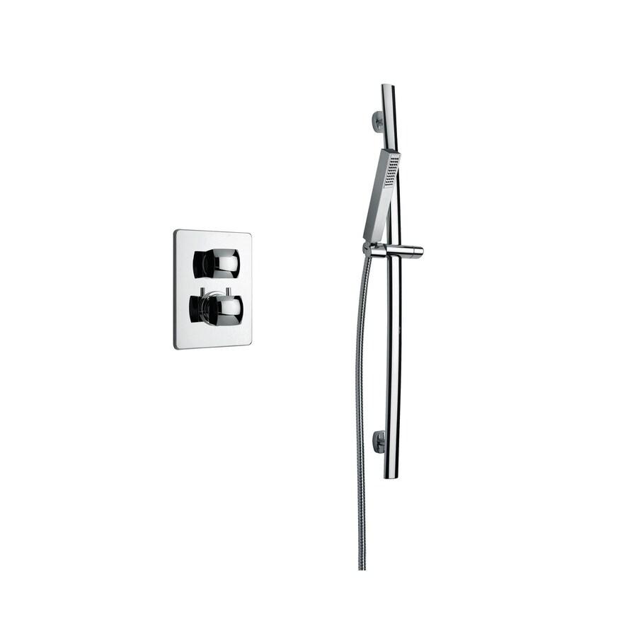LaToscana Lady Chrome 2-Handle WaterSense Shower Faucet with Single Function Showerhead