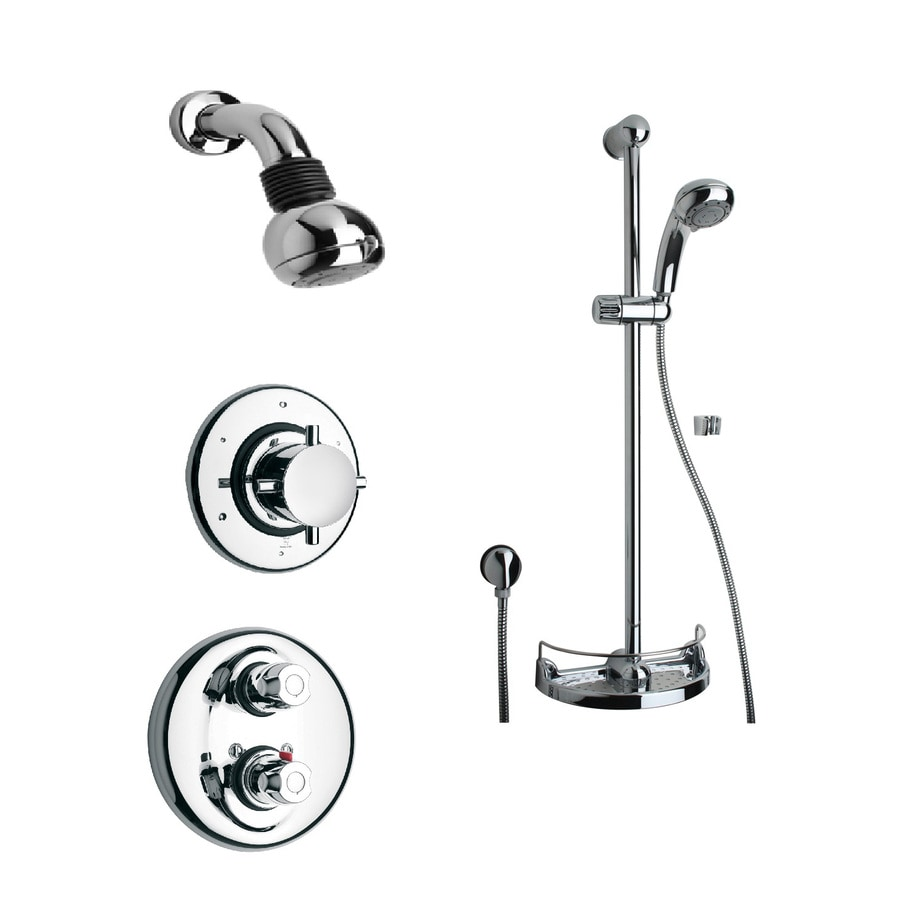Shop LaToscana Water Harmony Chrome 3-Handle Commercial Shower ...