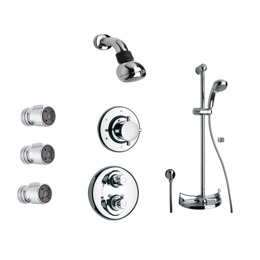 LaToscana Water Harmony Chrome 3-handle Commercial Shower Faucet with Valve
