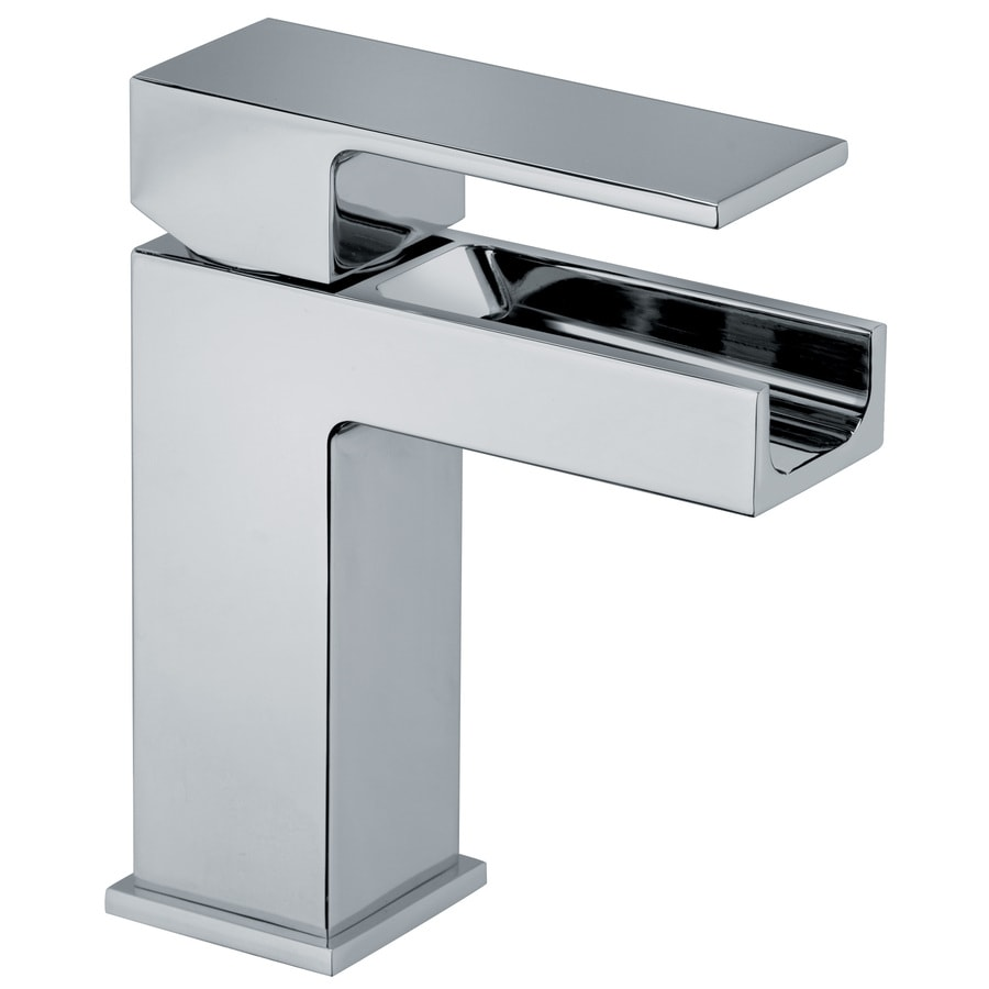 Shop LaToscana Dax Chrome 1-handle Single Hole Commercial Bathroom ...