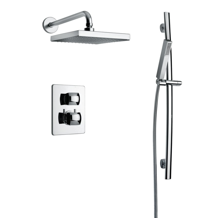 Shop LaToscana Lady Chrome 2 Handle Commercial Shower Faucet With Valve At Lo