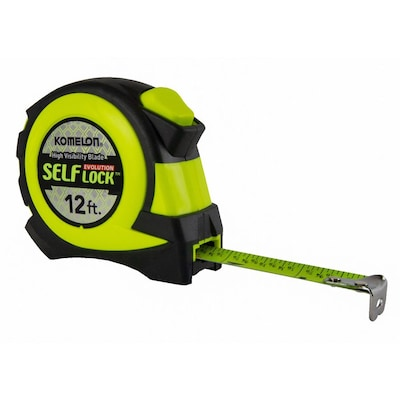Komelon Self-Lock Evolution 12-ft Auto Lock Tape Measure