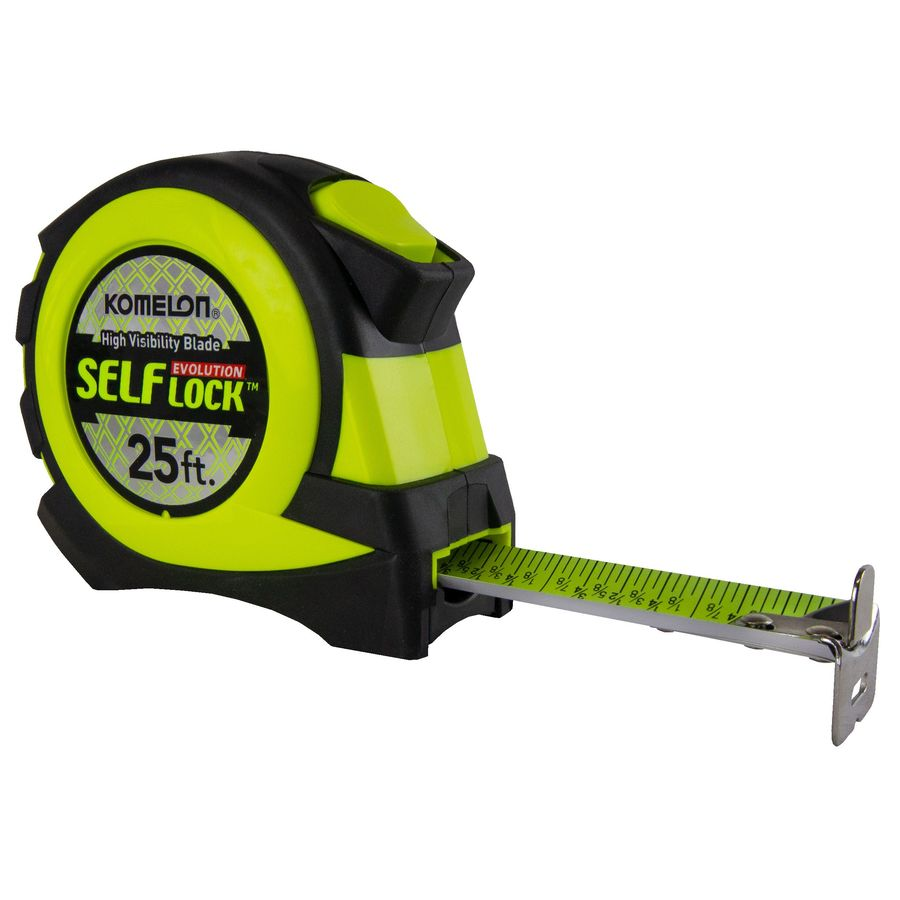 Shop measuring tools at lowes komelon 25 ft tape measure greentooth Images