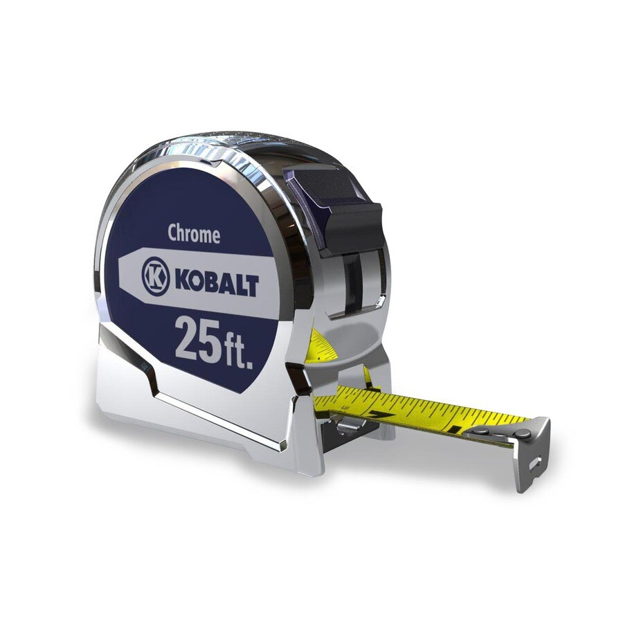 Kobalt 25-ft Locking SAE Tape Measure