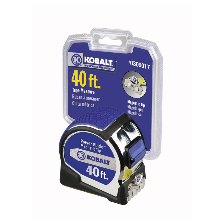 Shop Kobalt 40 Magnetic Tip Powerblade Tape Measure At Lowescom