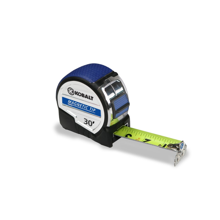 Kobalt 30-ft Magnetic Tip High-Viz Blade Tape Measure