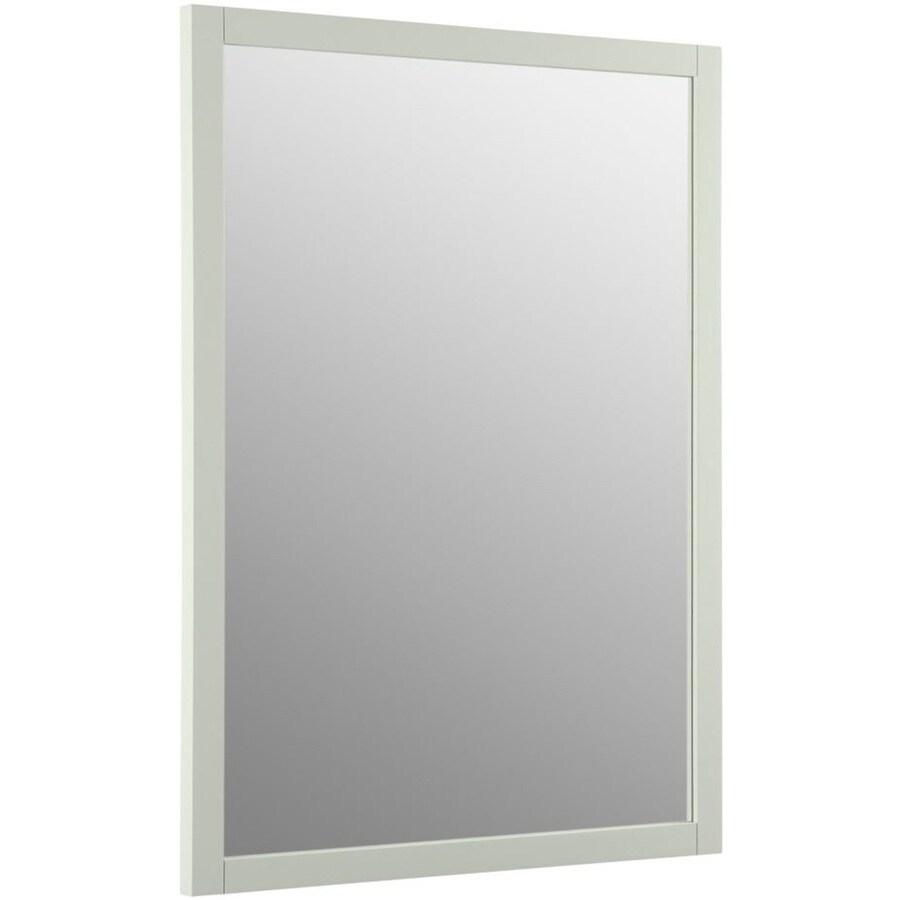 KOHLER Evandale 23.5-in W x 32-in H Lily Rectangular Bathroom Mirror
