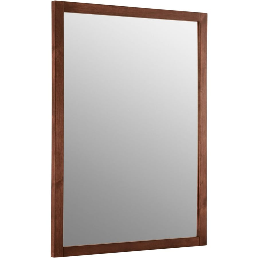 Perfect  38quot H Woodframe Mirror  Contemporary  Bathroom Mirrors  By Kohler