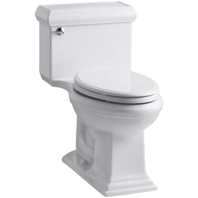 Kohler Memoirs White Watersense Elongated Chair Height