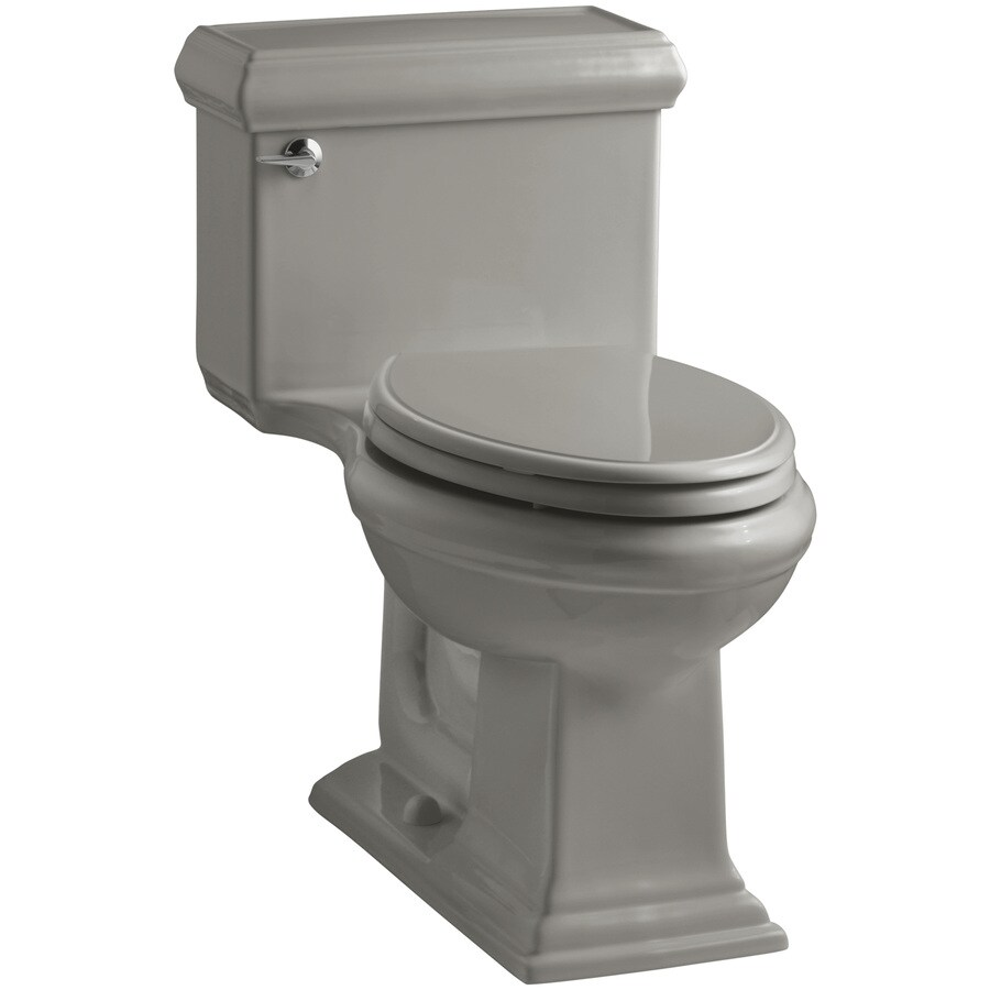 KOHLER Memoirs Cashmere WaterSense Labeled  Elongated Chair Height 1-piece Toilet 12-in Rough-In Size