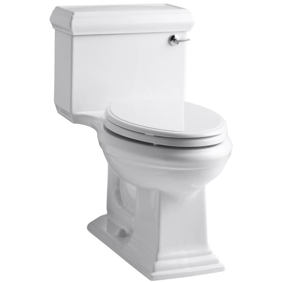 KOHLER Memoirs 1.28-GPF White WaterSense Elongated Chair Height 1-Piece Toilet