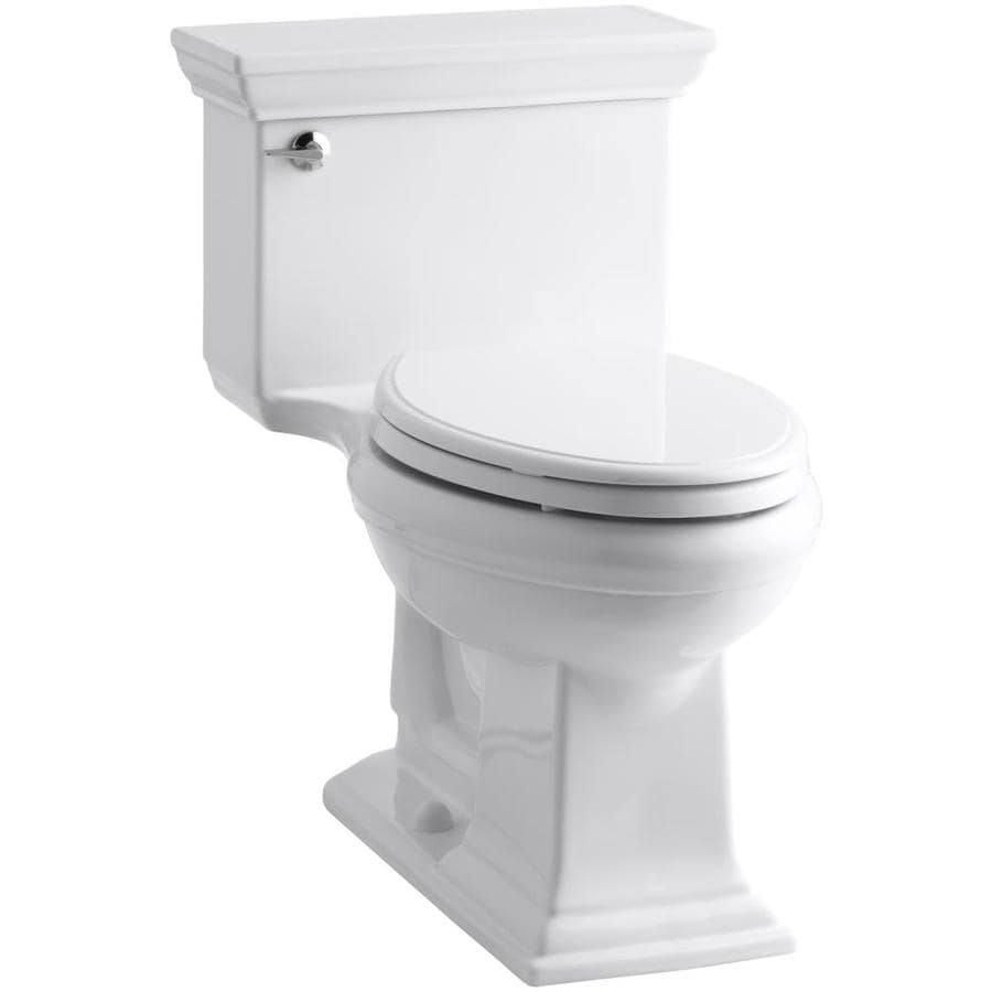 KOHLER Memoirs White WaterSense Labeled  Elongated Chair Height 1-piece Toilet 12-in Rough-In Size