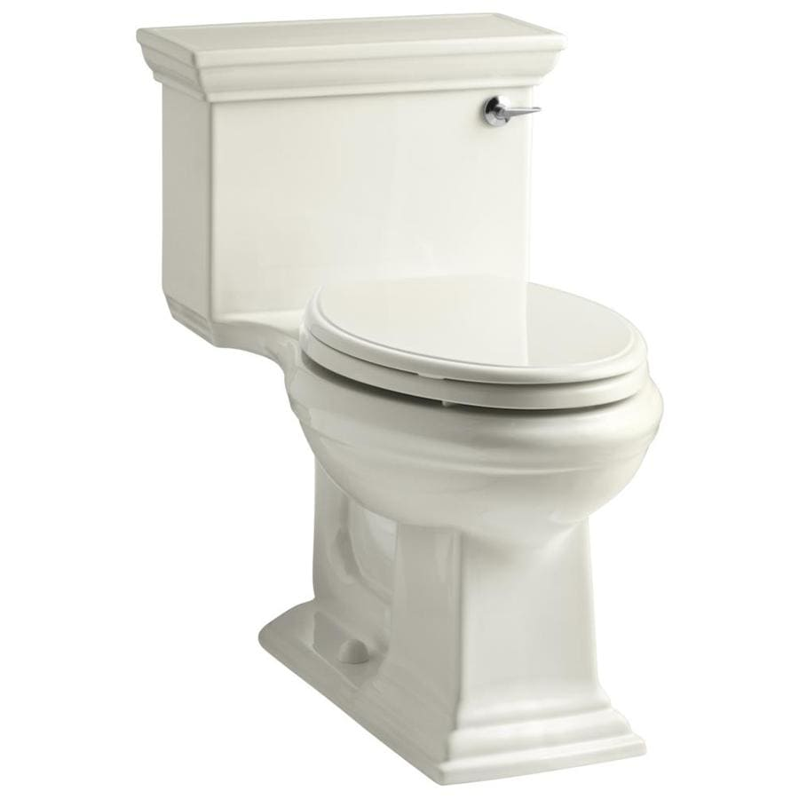 KOHLER Memoirs 1.28 Biscuit WaterSense Elongated Chair Height 1-Piece Toilet