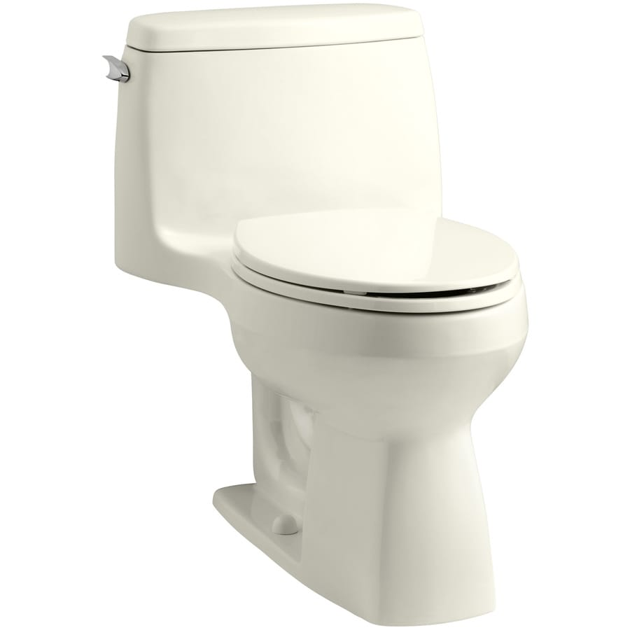 KOHLER Santa Rosa 1.6-GPF (6.06-LPF) Biscuit Elongated Chair Height 1-piece Toilet