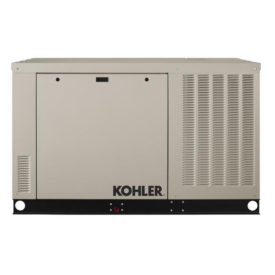 KOHLER 38,000-Watt (LP) / 38,000-Watt (NG) Standby Generator