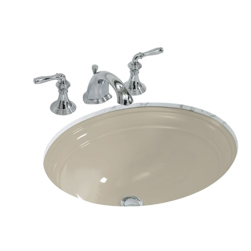 Kohler Devonshire Sandbar Undermount Oval Bathroom Sink