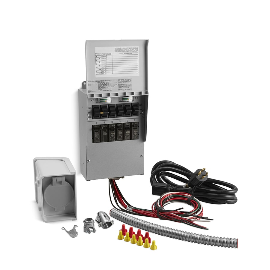 KOHLER Manual Transfer Switch Kit for Kohler Portable Generators