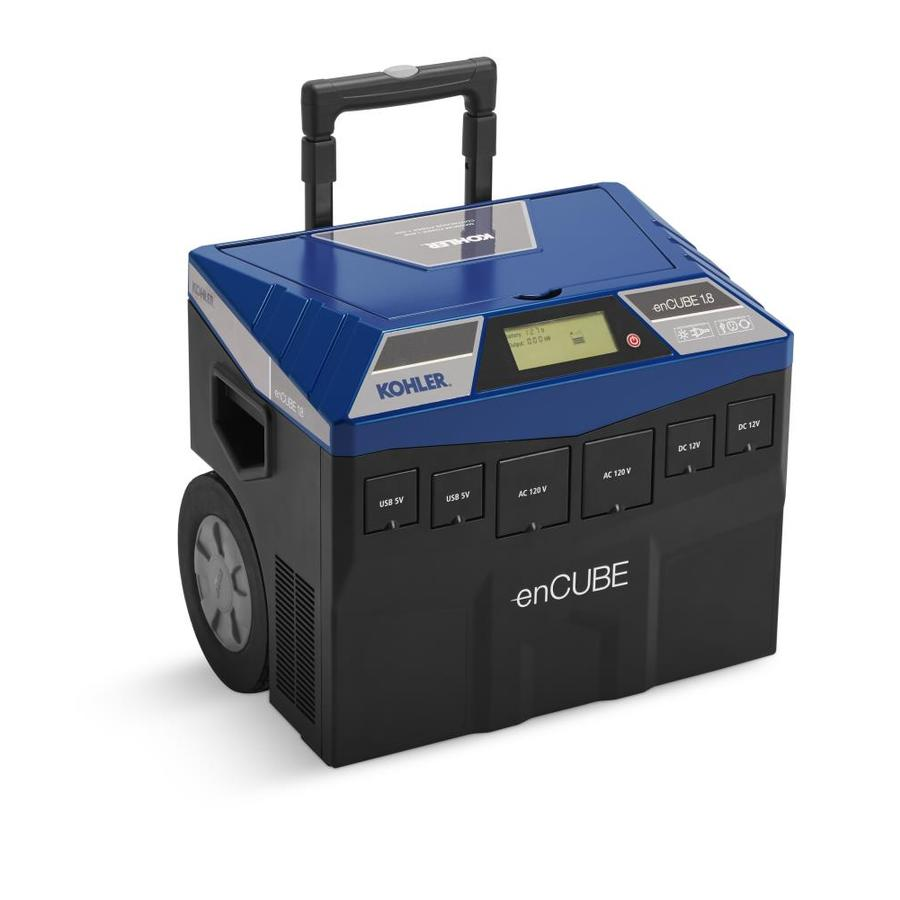 ... KOHLER enCUBE 1,200-Watt Hour Portable Solar Generator at Lowes.com