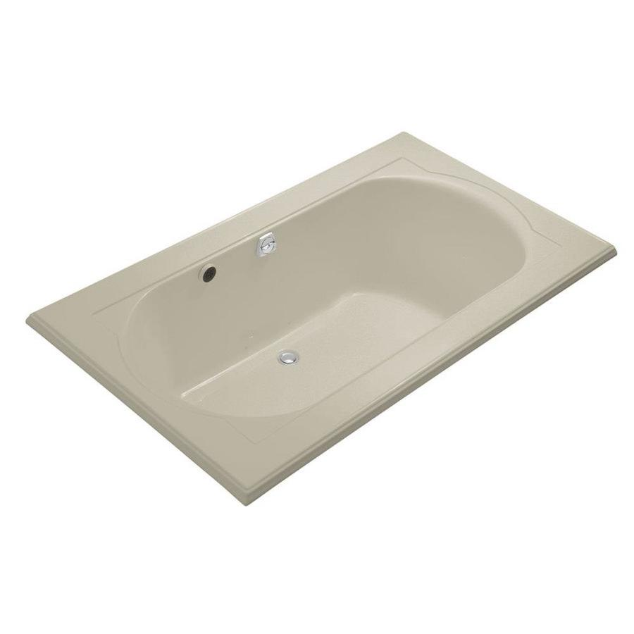 KOHLER Memoirs 72-in L x 42-in W x 22-in H Acrylic 2-Person Oval In Rectangle Drop-in Air Bath