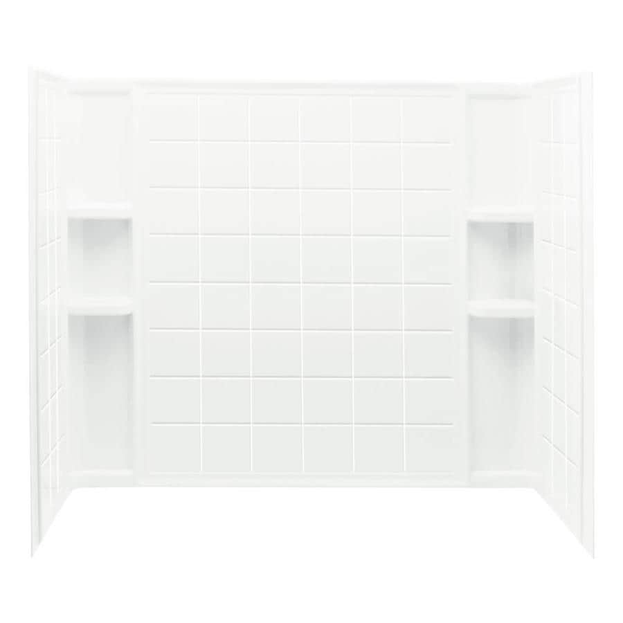 Sterling Ensemble White Shower Wall Trim Kit
