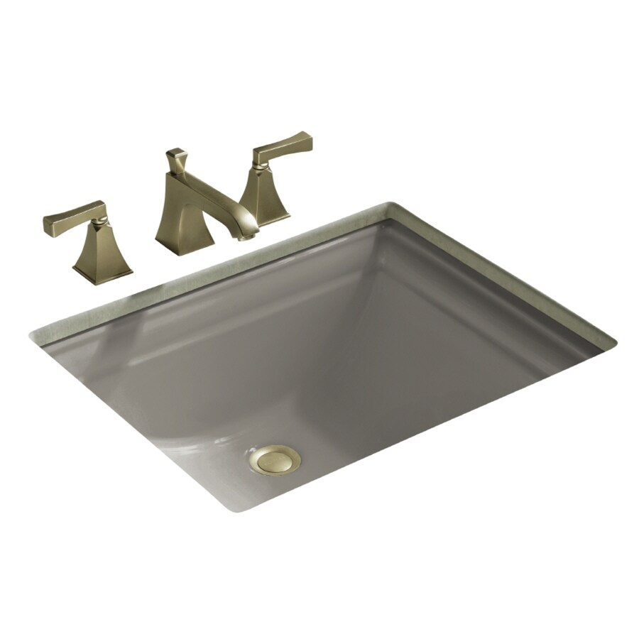 Shop Kohler Memoirs Cashmere Undermount Rectangular