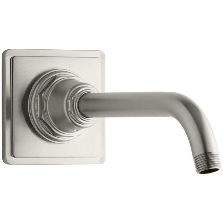 KOHLER Vibrant Brushed Nickel Shower Arm and Flange