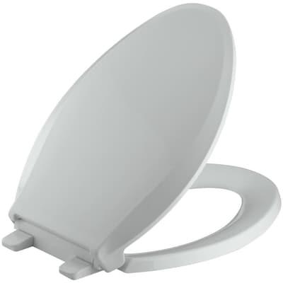 Pleasant Quiet Close Grip Tight Cachet Plastic Elongated Slow Close Toilet Seat Machost Co Dining Chair Design Ideas Machostcouk
