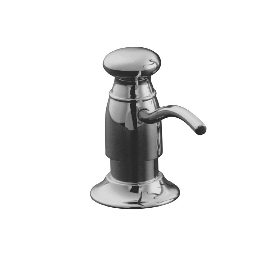 KOHLER Polished Chrome Soap and Lotion Dispenser